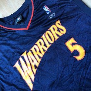 fc9cd28ea Reebok Shirts - Golden State Warriors Baron Davis Jersey Vintage